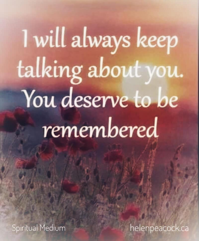 You are currently viewing Remembering A Loved One